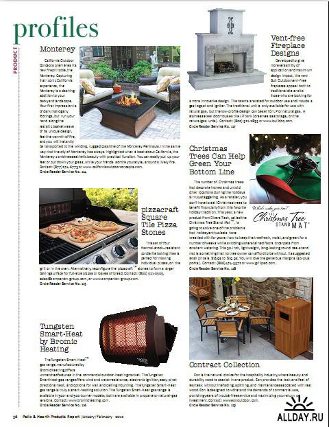 Patio & Hearth Products Report - January/February 2012