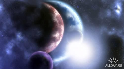 Прекрасные космические обои