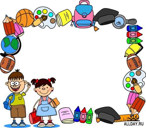Школьные фоны 2 - Векторный клипарт | School backgrounds 2 - Stock Vectors