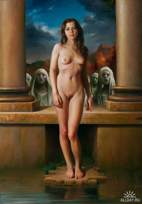 Работы итальянского художника Claudio Sacchi