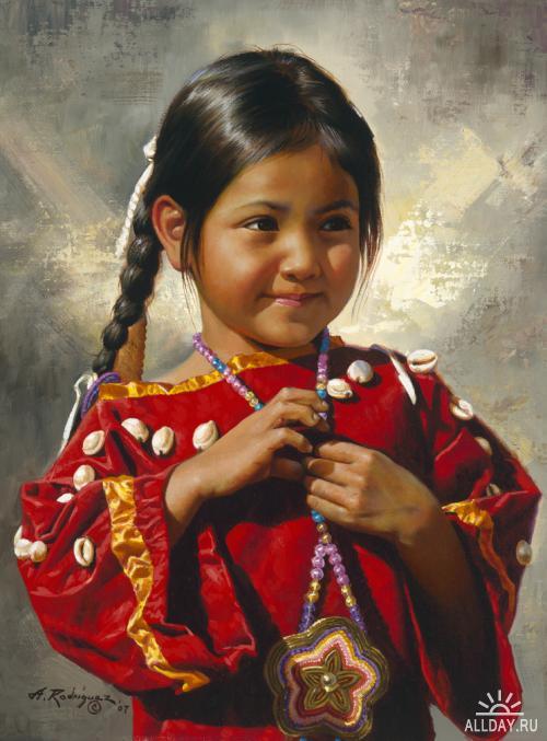 Индейцы племен сиу и навахо