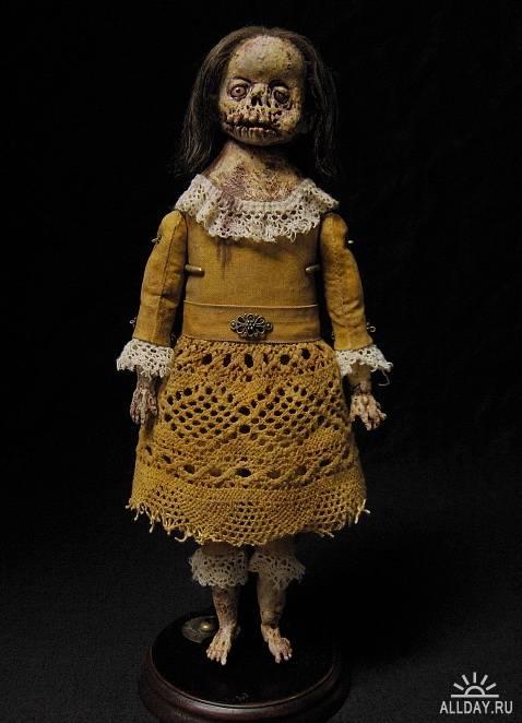 Пугающие куклы Shain Erin