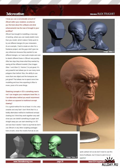 3DCreative Issue 024 - What tells you when