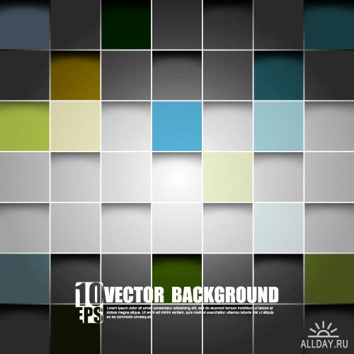 Futuristic geometric background