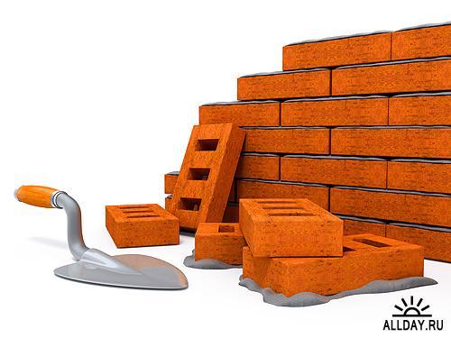 Stock Photo - Building 3D | Строительство в 3D