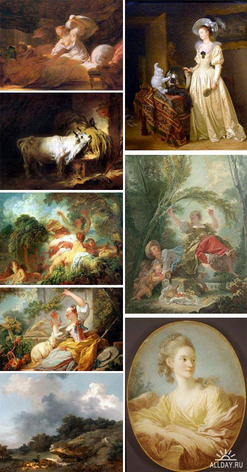 Artworks by Jean-Honore Fragonard