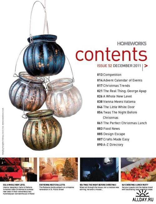 HomeWorks Issue 52 - December 2011