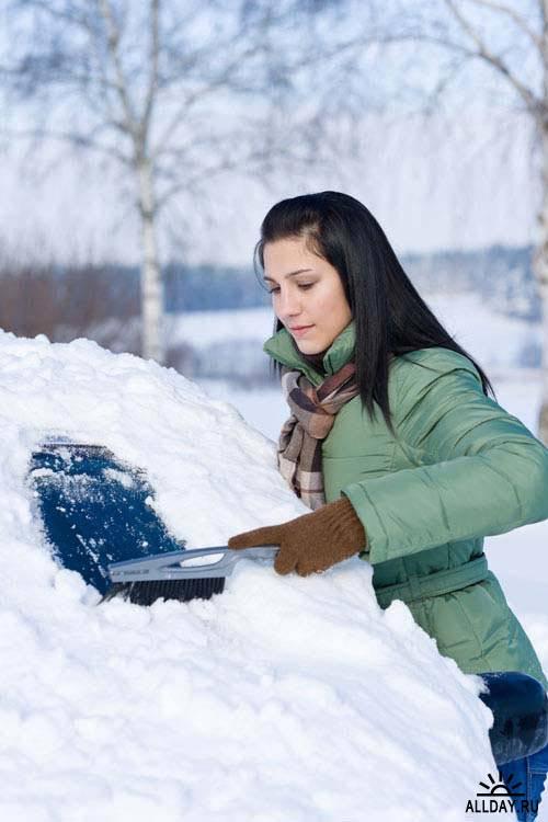 People in winter 5 | Люди зимой 5