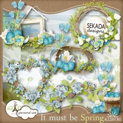 Scrap kit It must be Spring