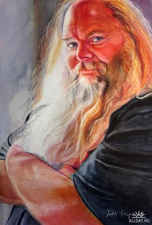 Портреты Tuva Stephens