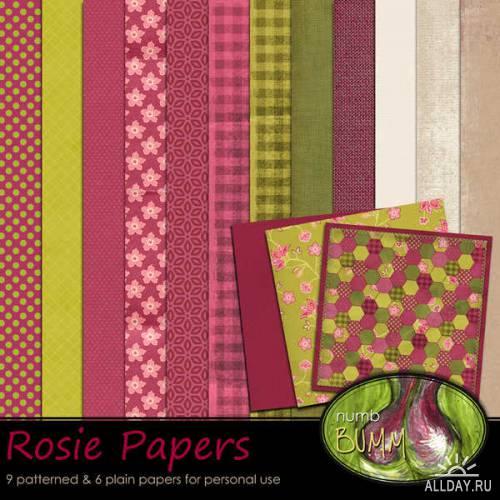 Scrap kit - Rosie