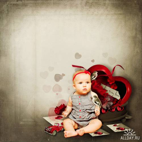 Scrap kit  Where is the love ?