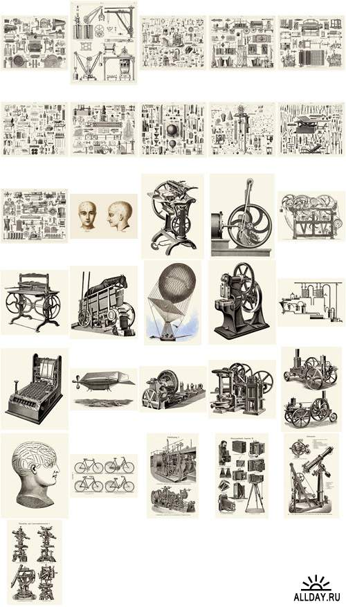 Visual Language 10 Antique Science and Technology