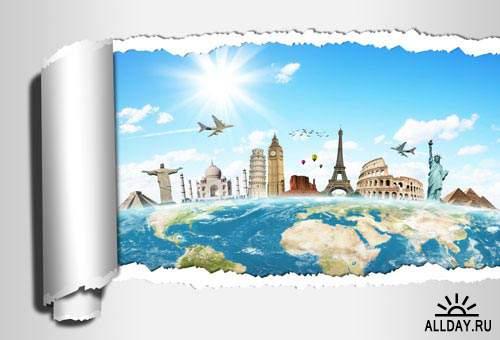 Путешествие по миру 4 | World travel 4