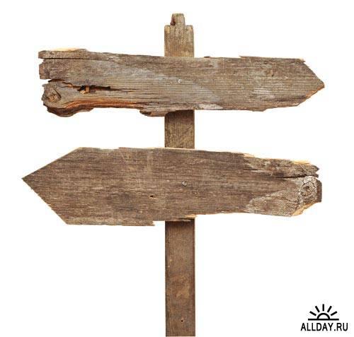 Деревянная вывеска | Wooden signboard