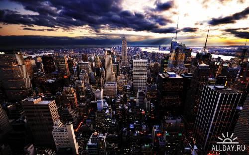 45 Unexceptionable Cityscapes HD Wallpapers Set 9