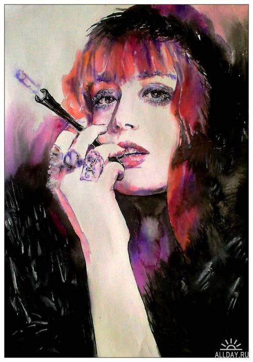 Artworks by Lana Khavronenko