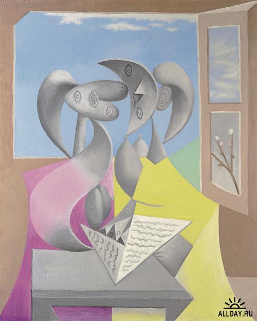 Две самые дорогие работы Pablo Picasso проданных на аукционе Кристис.