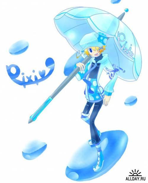 Pivix Artist - Shi ya ma pure