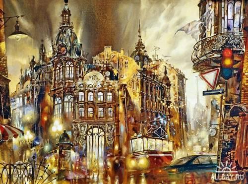 Artworks by Ivan Slavinsky