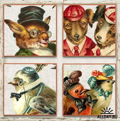 Cajoline - Vintage Animals 1 - Personal Use