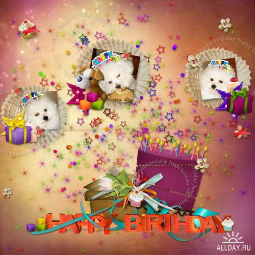 Scrap kit   BirthdayParty