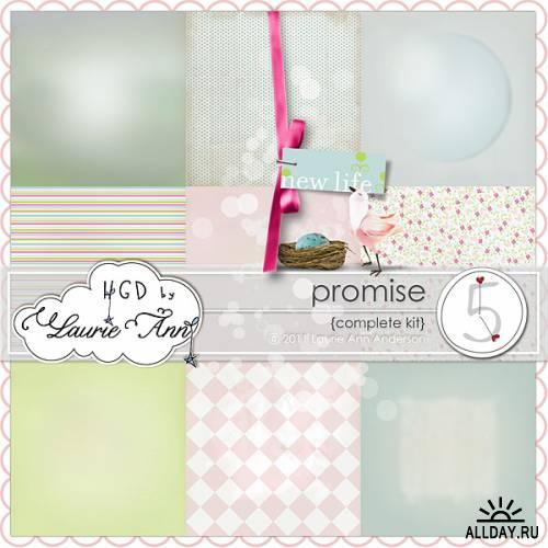 Скрап-набор Promise