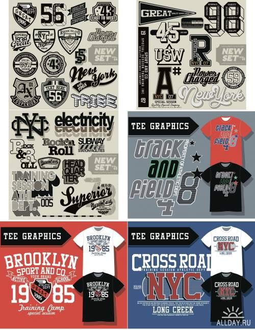 Дизайн футболок / T-Shirt Design 17