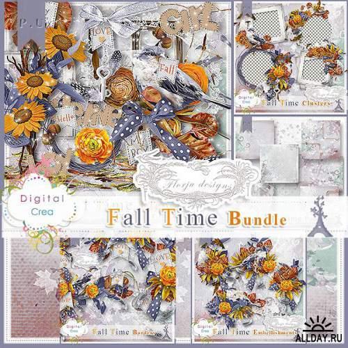 Скрап-набор Fall Time