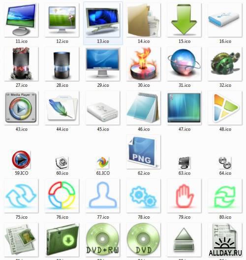 Сборник иконок для Windows