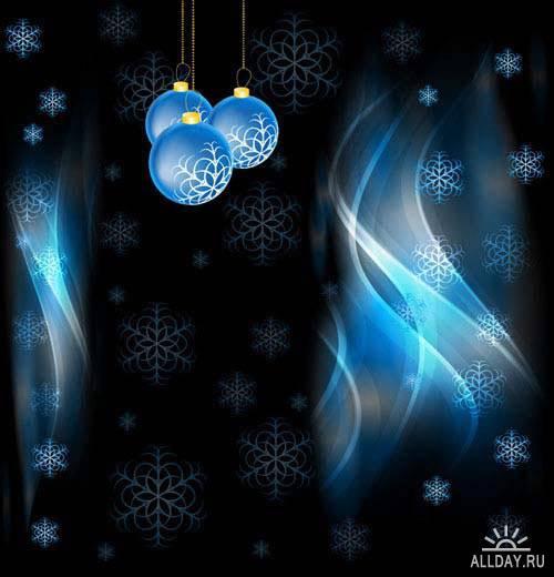 Christmas background 37   Новогодний фон 37