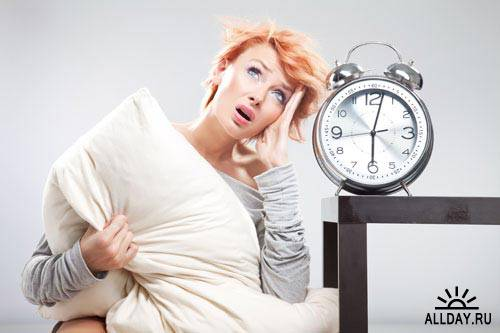 Stock Photo: Sleepy people | Сонные люди