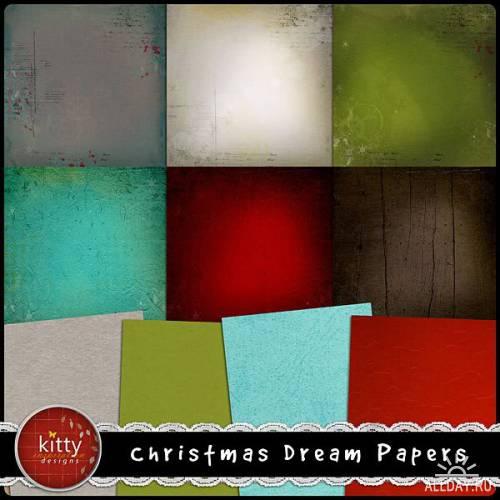 Scrap kit  Christmas Dream