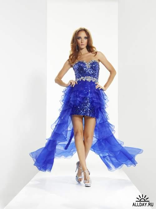 Коллекция платьев 6 - платье для коктейля (JPG)