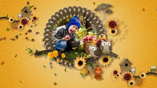 The Colours of Autumn - проект для ProShow Producer®