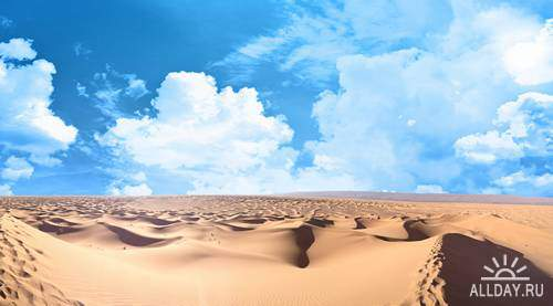 Desert   Пустыня - Высококачественный растровый клипарт. Photostock