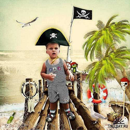 Скрап-набор - Pirat' Age