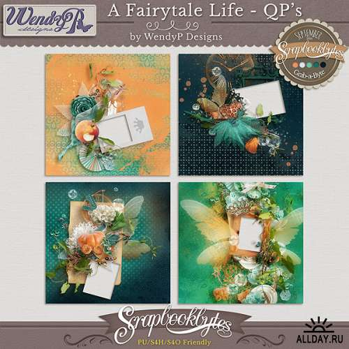 Scrap set - A fairytale life