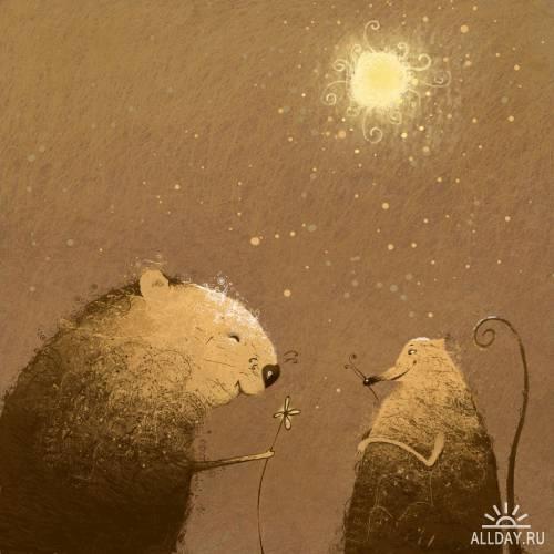 Иллюстратор Елена Лишанская