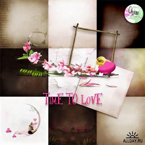 Скрап-набор «Time to Love»