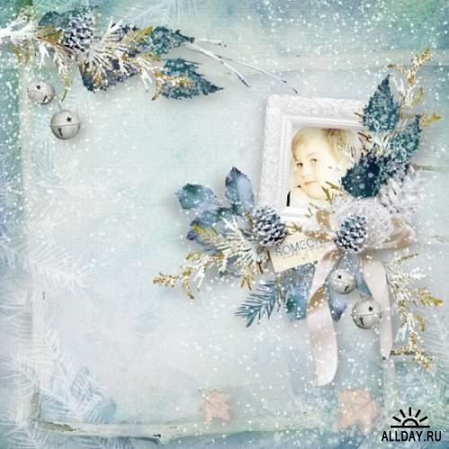 Скрап-набор Jardin d'hiver
