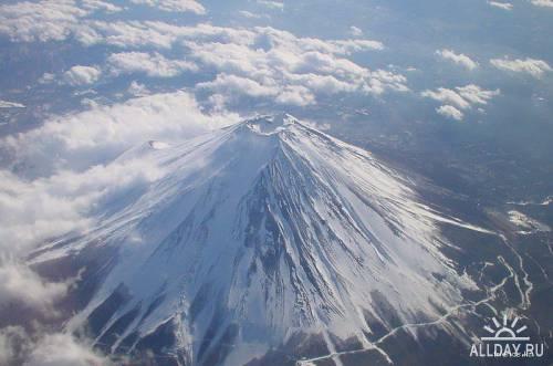 УДЗИ (ФУДЗИСАН, ФУДЗИЯМА) — Величественный символ Японии - гора Фудзи