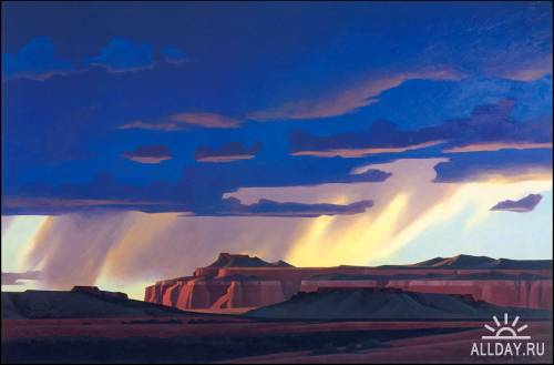 Ed Mell`s Beyond the Visible Terrain