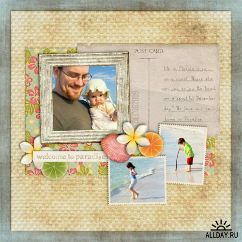 Scrap kit Welcome to Paradise