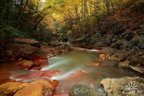 Реки и озера в новом сборнике обоев с природой (Часть 2)