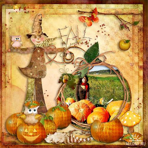 Scrap kit   Autumn Splendor