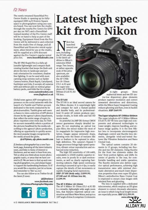f2 Freelance Photographer Vol.7 No.2, 2013
