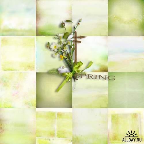Скрап-набор  Breath of Spring