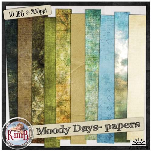 Скрап-набор - Moody Days
