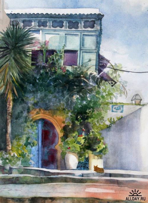 Paintings by Margaux Brundage